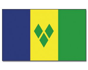 Flagge St. Vincent und Grenadinen - 90 x 150 cm [Misc.]