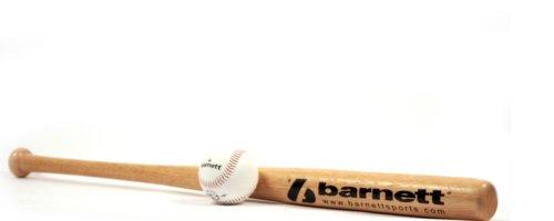 BBWO-1 Baseball Set, Schläger & Ball, Senior, Holz, (BB-W 32, TS-1)