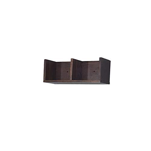 Lrzlzy parete attrezzata in legno massello porta tv europea parete divisorio ad angolo portaoggetti semplice mensola portaoggetti (colore : a, dimensioni : 16 * 16 * 42cm)