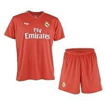 Conjunto de Camiseta y Pantalon de Portero Rojo del Real Madrid 2018-2019 -  Replica a13b13537ed80