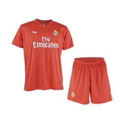 Conjunto de Camiseta y Pantalon de Portero Rojo del Real Madrid 2018-2019 -  Replica 50d1620871a5b