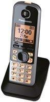 Panasonic KX-TGA671EXB Mobilteil für Panasonic KX-TG67xx Serie inkl. Ladeschale scwarz