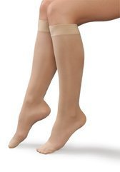 Therafirm Women's Mild Support Sheer Knee High Stockings Size: 2X-Large, Color: Natural 68197 by Therafirm