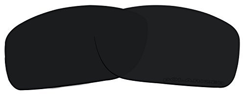 Stealth Black Sunglasses Lenses Replacement Polarized for Oakley Canteen (2014) OO9225 Sunglasses by BVANQ
