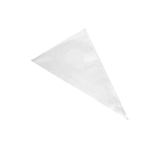 ibili 760055 Einweg-Spritzbeutel 55 cm, Nylon, weiß, 55 x 6 x 3 cm, 10 Einheiten
