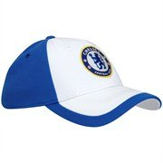 Original Adidas Chelsea London Baseball Cap Kappe NEU Blau/Weiß gefüttert L/XL