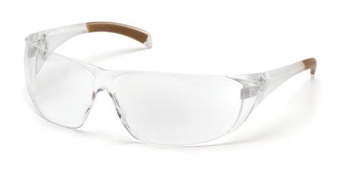 carhartt Billings Safety Sicherheitsbrille Arbeitsbrille Schutzbrille EG1ST (Clear)