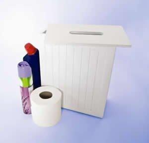 white-shaker-slimline-wooden-multipurpose-bathroom-storage-unit