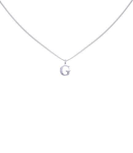 n Kette, Halskette mit Buchstaben Anhänger