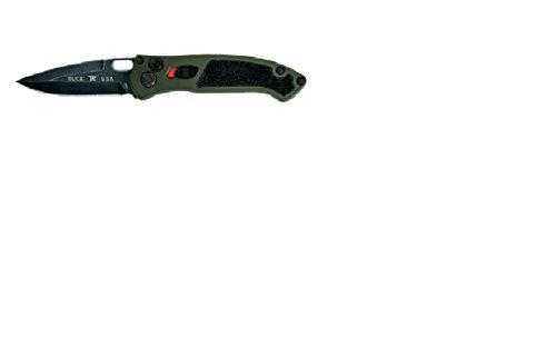 Buck 0898GRS Couteau Automatique Mixte Adulte, Vert, Manche 12 cm