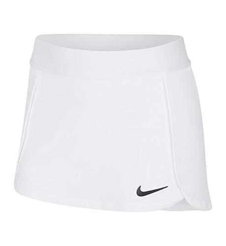 Nike Mädchen G NKCT Skirt STR, White/(Black), M
