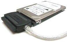 USB 2.0 auf IDE Adapter Converter für alle Formate inkl. Netzteil (Ide Zu Usb)