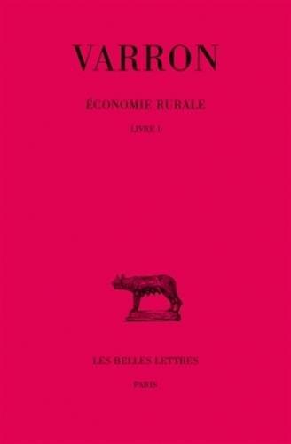 Economie rurale, Livre 1