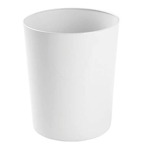 MDesign Papelera metálica - Atractivo cubo basura