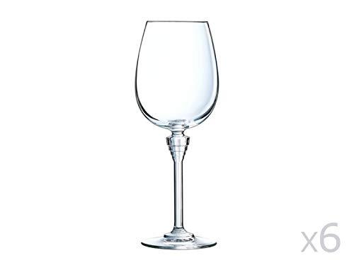 Cristal d'Arques AVE3618015 Verre, Cristallin, Multicolore, 25 X 17