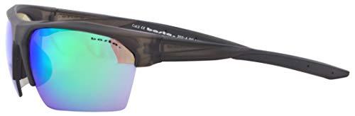 Basta Speedy Sonnenbrille Matte Black/Green Mirror