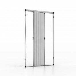 Noflystore platinum.03 zanzariere plissettate su misura per porte e finestre, colore: bianco, misura: 90 x 190 cm, made in italy