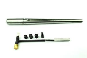Hammer Juwelier (Proops Ringstock, aus massivem Stahl mit einer Rille & Juweliere Hammer mit 6 Köpfen.)