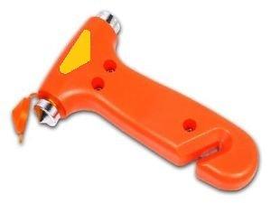 Nothammer mit Gurtschneider Notfallhammer Gurtmesser Glas Hammer