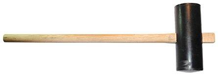 Silverline 250495 - Maza de goma (6,8 kg)