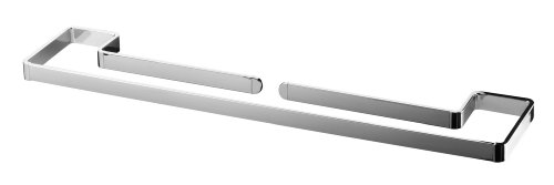 bisk-04321-natura-double-towel-bar-56-x-112-x-2-cm-chrome