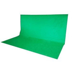 300 x 300 cm Fotostudio Hintergrund Chromakey Green Screen in Grün