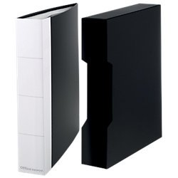 Display Book A4 120 Pockets With Storage Box Black 1