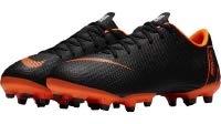 Nike Unisex-Kinder Vapor 12 Academy Gs MG Fußballschuhe, Grau Black-Dark Grey 070, 34 EU