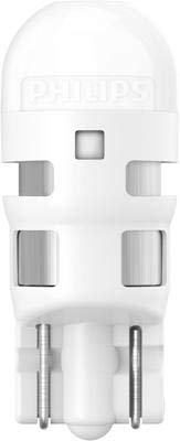 Philips Vision lampadine LED T10W5W 6000K Xenon bianco 12V 11961ULWX2Twin