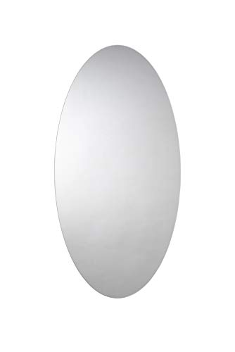 Croydex - Espejo ovalado 90 x 45 cm