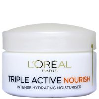 L'oreal Dermo-Expertise Triple Active Nourish Intensive Hydrating Moisturiser (Dry to Very Dry Skin) - 50 ml