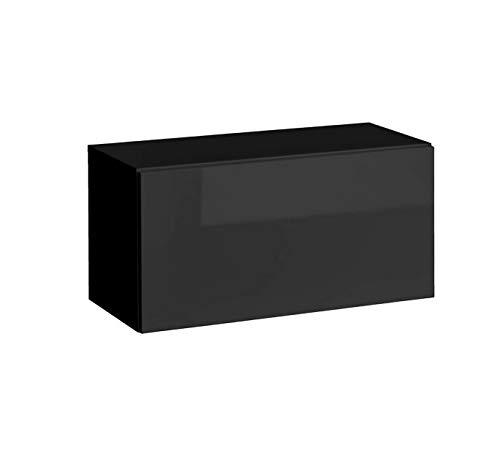 Muebles bonitos mobile pensile modello martina p h70x35 (70x35cm) nero