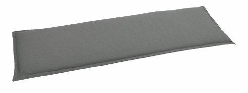 GO-DE 2945-12 Bankauflage 3 Sitzer, circa 145 x 48 x 6 cm, anthrazit uni