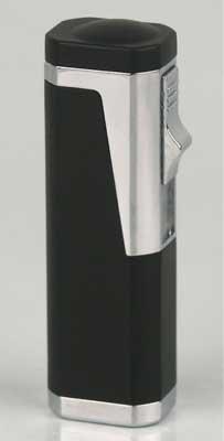 Cigarros puros de mechero 3 - las llamas de colour negro con alrededor de cortador de 6 mm