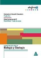 Ciencias Naturales: Biología Y Geología. Graduado En Educación Secundaria (Prueba Libre). Ciclos Formativos De Fp (Grado Medio: Prueba De Acceso). (Acceso A Ciclos Formativos) - 9788483116739