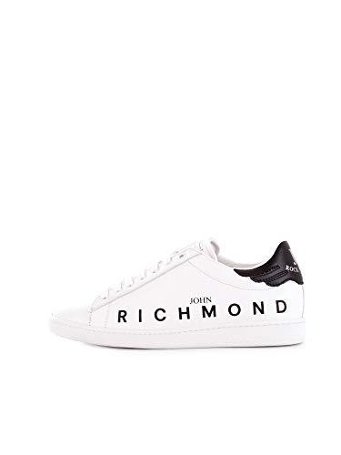 RICHMOND Herren 7008Bwhite Weiss Leder Sneakers