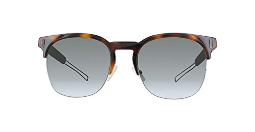 Dior Herren BLACKTIE207S SF CJ5 Sonnenbrille, Grün (Havana Green Crystal/Black Grey Speckled), 53