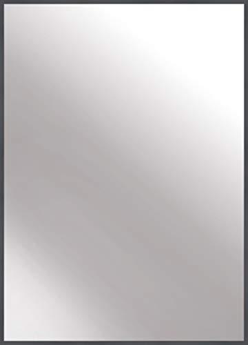 nielsen HOME Wandspiegel Alpha, Grau, Aluminium, ca. 50x70 cm