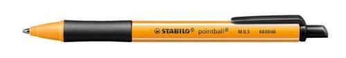 Stabilo Kugelschreiber pointball Druckmechanik 0,5 mm Schwarz 10St.