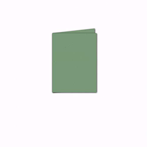 Faltkarte/Doppelkarte - Greenline Pastell Misty Green / 10 Stück/DIN A5