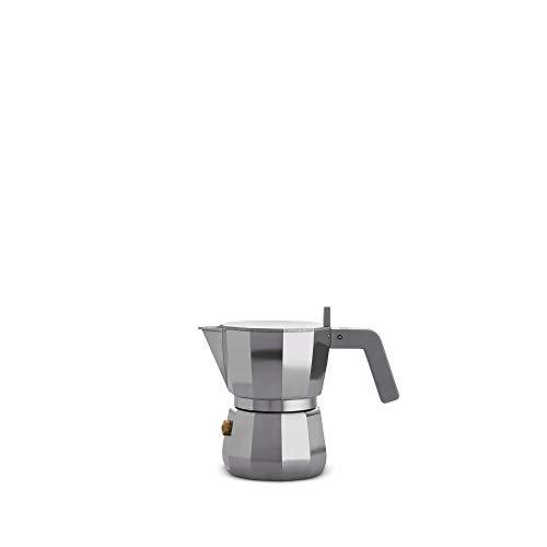 Alessi DC06/1 Espresso - Cafetera de espresso (aluminio)