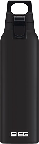 Sigg 8694.20, Borraccia Termica Unisex - Adulto, Nero, 0.5 L