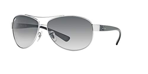 Ray-Ban RB3386 003/8G 63M Silver/Grey Gradient Sunglasses