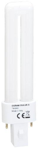 Osram Dulux S 7 W/840 Lampada fluorescente compatta