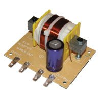 Subwoofer filter, 12 DB, 120 Hz, 4 Ohm, 400W 400w 4 Ohm Subwoofer