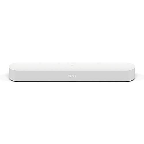 Sonos Beam Compact Smart Soundbar with Amazon Alexa Voice Control in White
