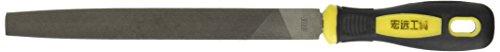 Hand Tool Schwarz Gelb Griff Mitte Typ zweite Schnitt flach Datei 20,3cm