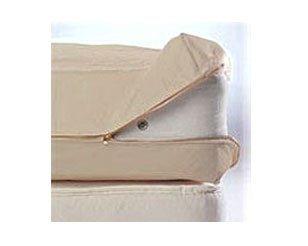 Cottonfresh Fully Enclosed Natural Cotton Duvet Cover -King- 265 x 200 cm