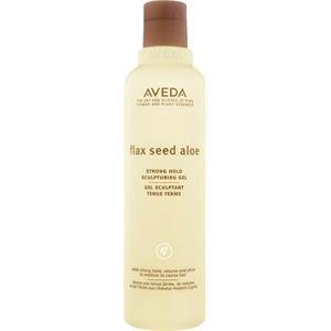 AVEDA Flax Seed Aloe Strong Hold Sculpturin Gel 250 ml Formt das Haar und liefert Glanz - Aveda-gel, Styling-gel