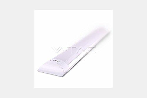 V-tac - Pantalla led ip20 40w luz neutra
